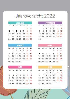 Jaaroverzicht 2022