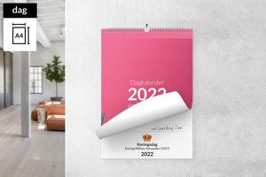 Dagkalender A4 staand met ophanghaak